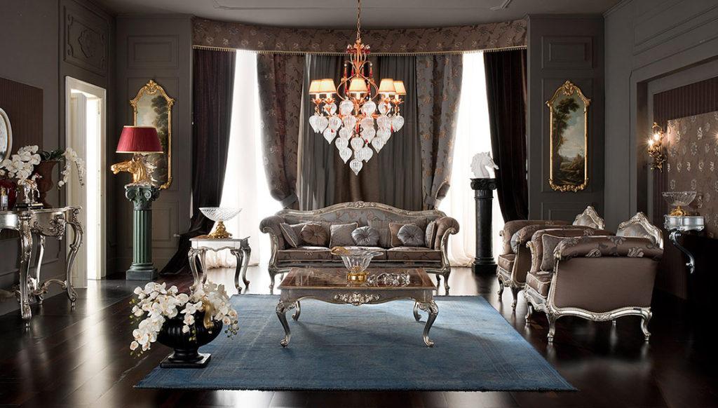 Аксессуары и декор в классических интерьерах