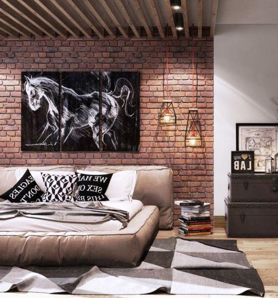 Интерьерная живописть в Loft