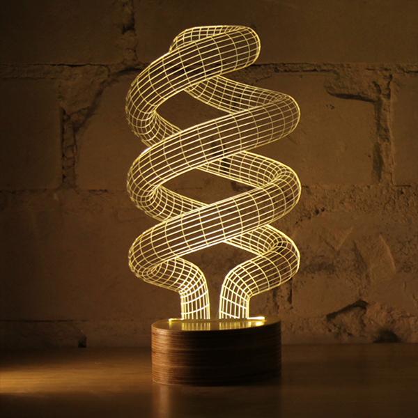 Оптические светильники 3D